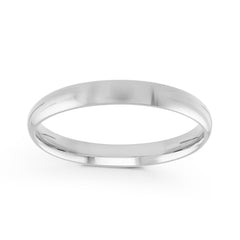 3mm Classic Dome Comfort Fit Wedding Band