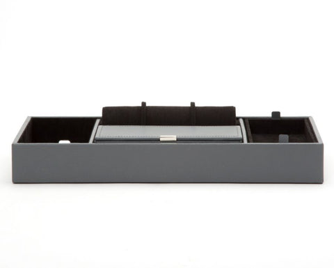 HOWARD VALET TRAY - GREY