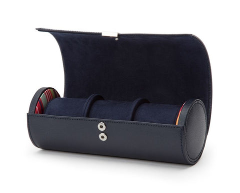 HOWARD TRIPLE WATCH ROLL - NAVY