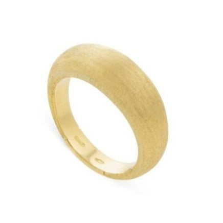 Yellow Gold Lucia Plain Dome Ring