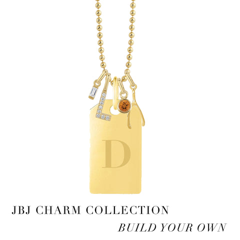 Dog Tag Engravable Pendant - JBJ Charm Collection