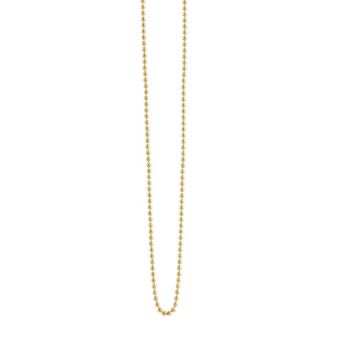 1.5mm Beaded Chain Necklace - JBJ Charm Collection