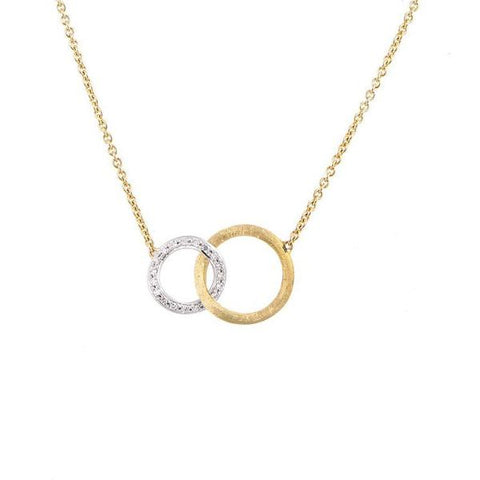 Jaipur Link Yellow Gold & Diamond Small Pendant