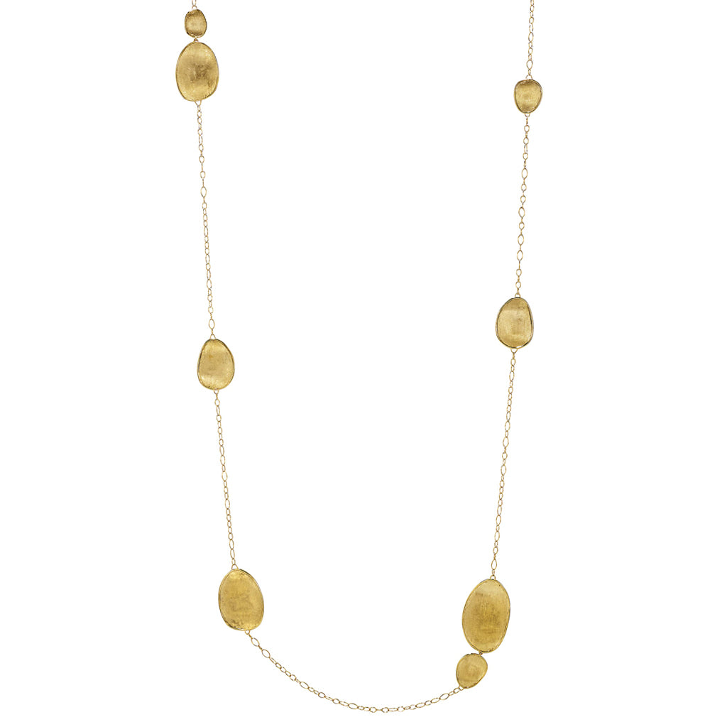 Lunaria Yellow Gold Medium Chain Necklace