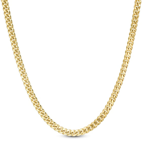 4.25mm Solid Miami Cuban Curb Link Chain