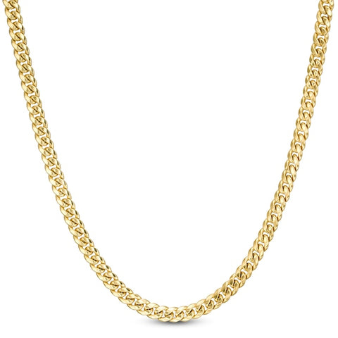 4.5mm Cuban Curb Link Chain