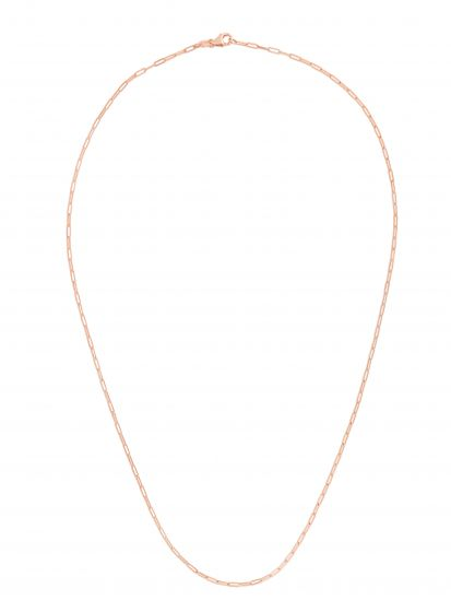 Ultra Petite Handmade Paper Clip 1.5mm Link Chain Necklace