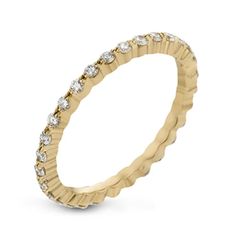Shared Prong Delicate Diamond Eternity Band