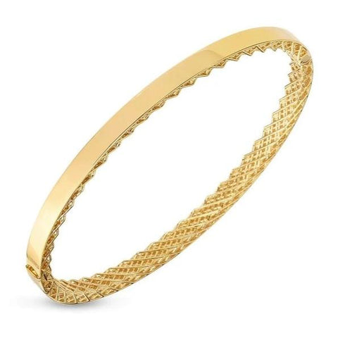 Symphony Golden Gate Polished Stackable Bangle