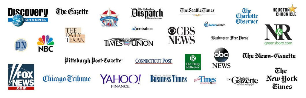 News source agencies that have publicized GreenTraveler