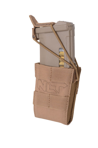 NLT Gear Single AR15/M4 Mag Pouch - Coyote Tan