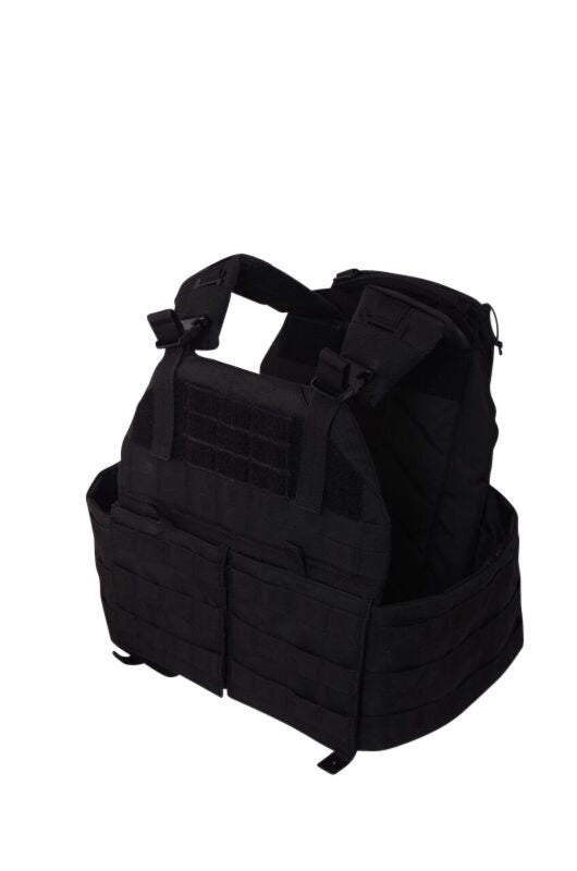 NLT Gear Plate Carrier - Tactical Black