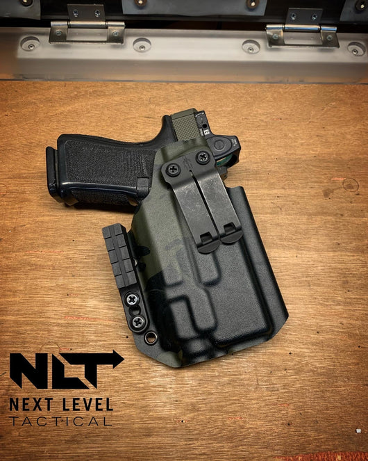 Glock Inside The Waistband Holster - Light Bearing, Full size