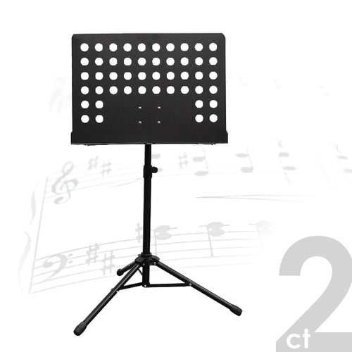 PARTYSAVING [2-Pack] Professional Collapsible Orchestra Sheet Music Stand, APL1368