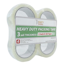 "Heavy Duty Shipping Packaging Tape 2"" x 55 Yards"