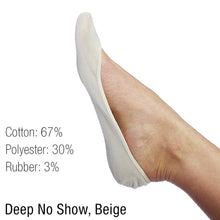 L'ESSENCE |6-Pair| Low-Cut Deep No-Show Socks for Women, Variety Bundle, LSE1042