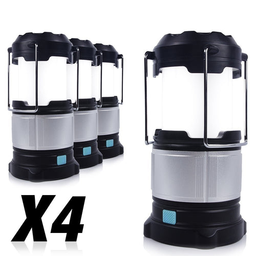 Camping Emergency Portable LED Lantern with Built-in Power Bank
