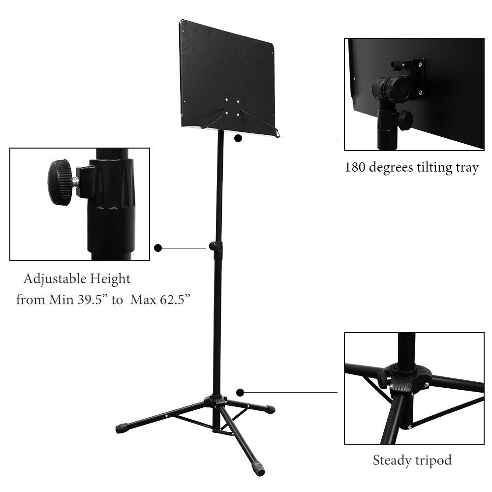 PARTYSAVING Orchestra Sheet Music Stand With Heavy Duty