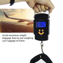Digital LCD Postal Shipping and Luggage Scale 110 lb / 50 kg Weight Capacity