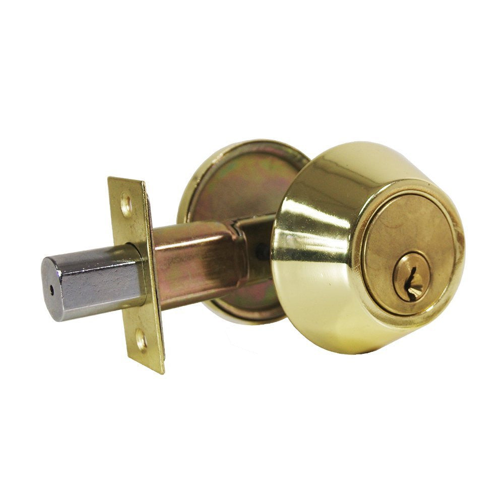 Eachpole 2 Pack Round Single Cylinder Deadbolt With Thumb Turn