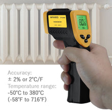 Non-Contact Infrared Thermometer with Precision Laser Technology, -58F ~ 1022F(-50C ~ 550C)