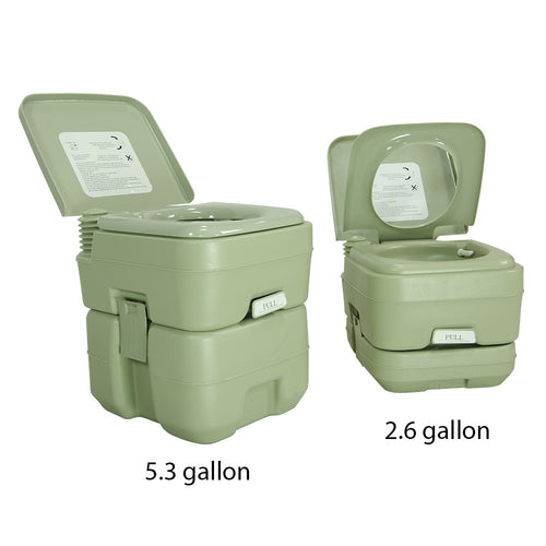 5.3 Gallon Travel Outdoor Camping Toilet