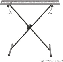 PARTYSAVING Pro Series Portable Single-X Keyboard Stand with Locking Straps ,SRE1324