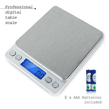 Stainless Multi-function Kitchen and Nutrition Digital Scale