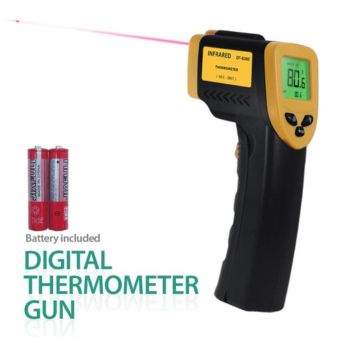 Non-Contact Infrared Thermometer with Precision Laser Technology, -58??- 1022??(-50??- 550??