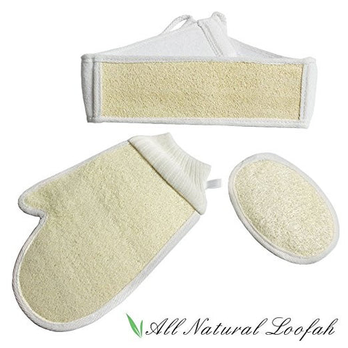 Exfoliating Body Loofah Set