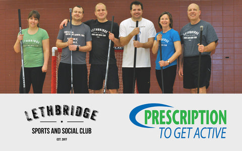 Lethbridge Sports and Social Club - Prescription to Get Active