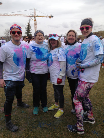 Lethbridge Sports and Social Club - Summer Colour Fun Run