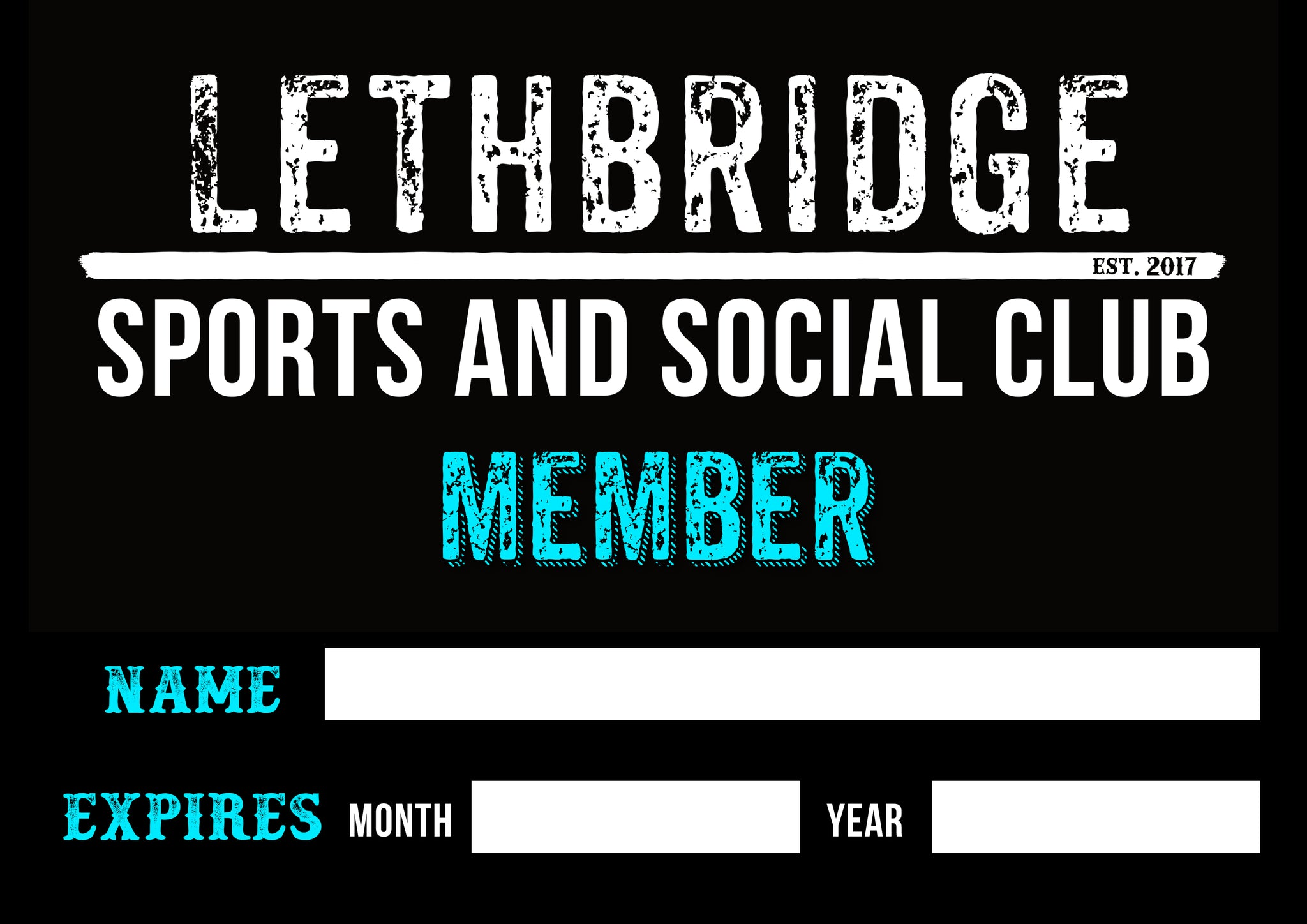 Annual Membership - Lethbridge Sports and Social Club