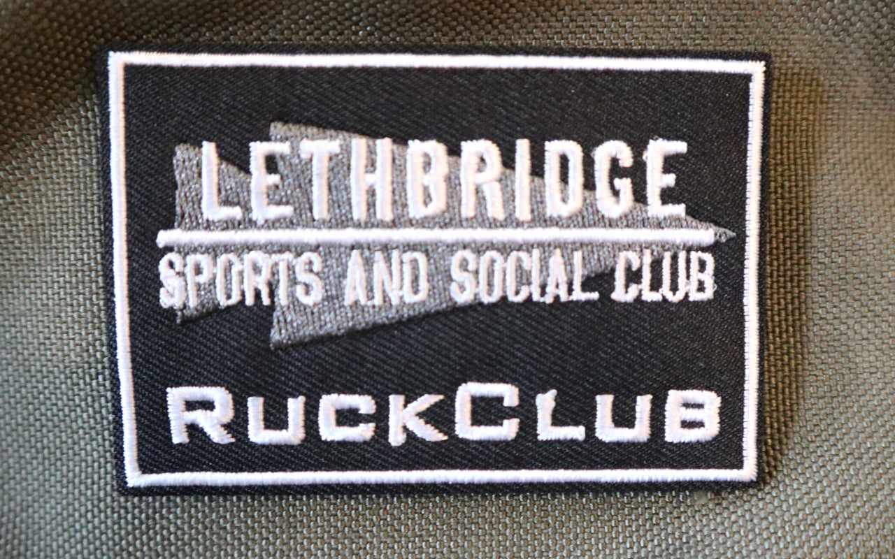 Ruck Club Patch - Lethbridge Sports and Social Club