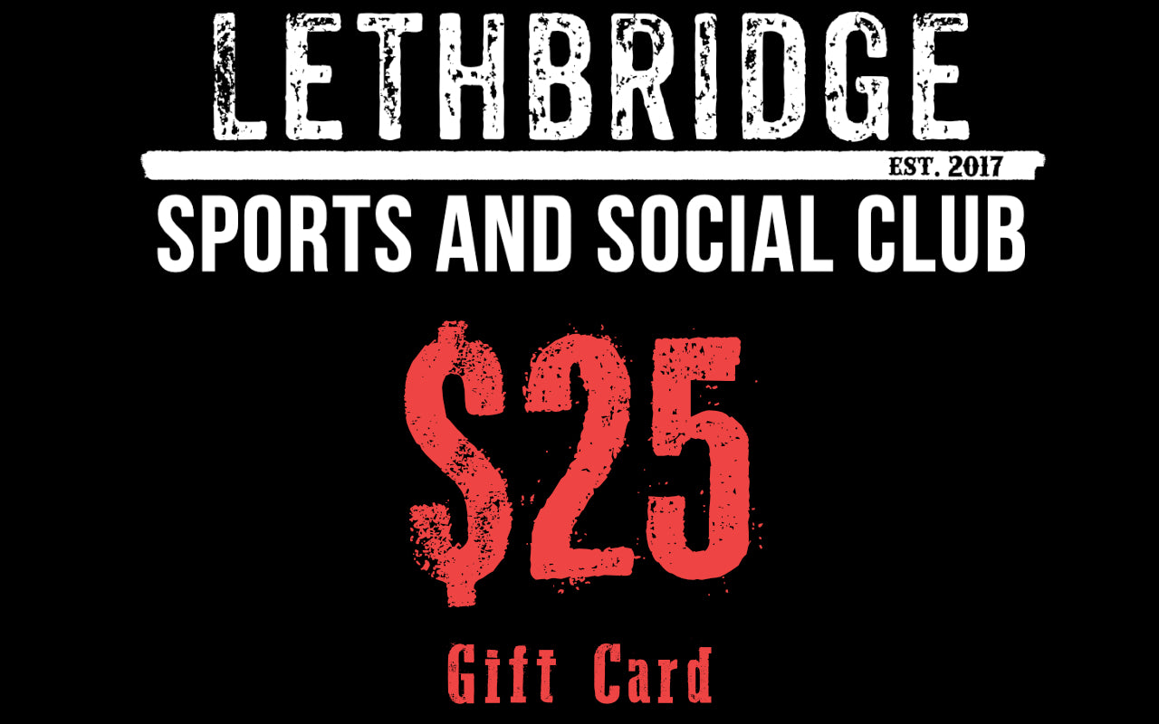 $50 Gift Card - Lethbridge Sports and Social Club