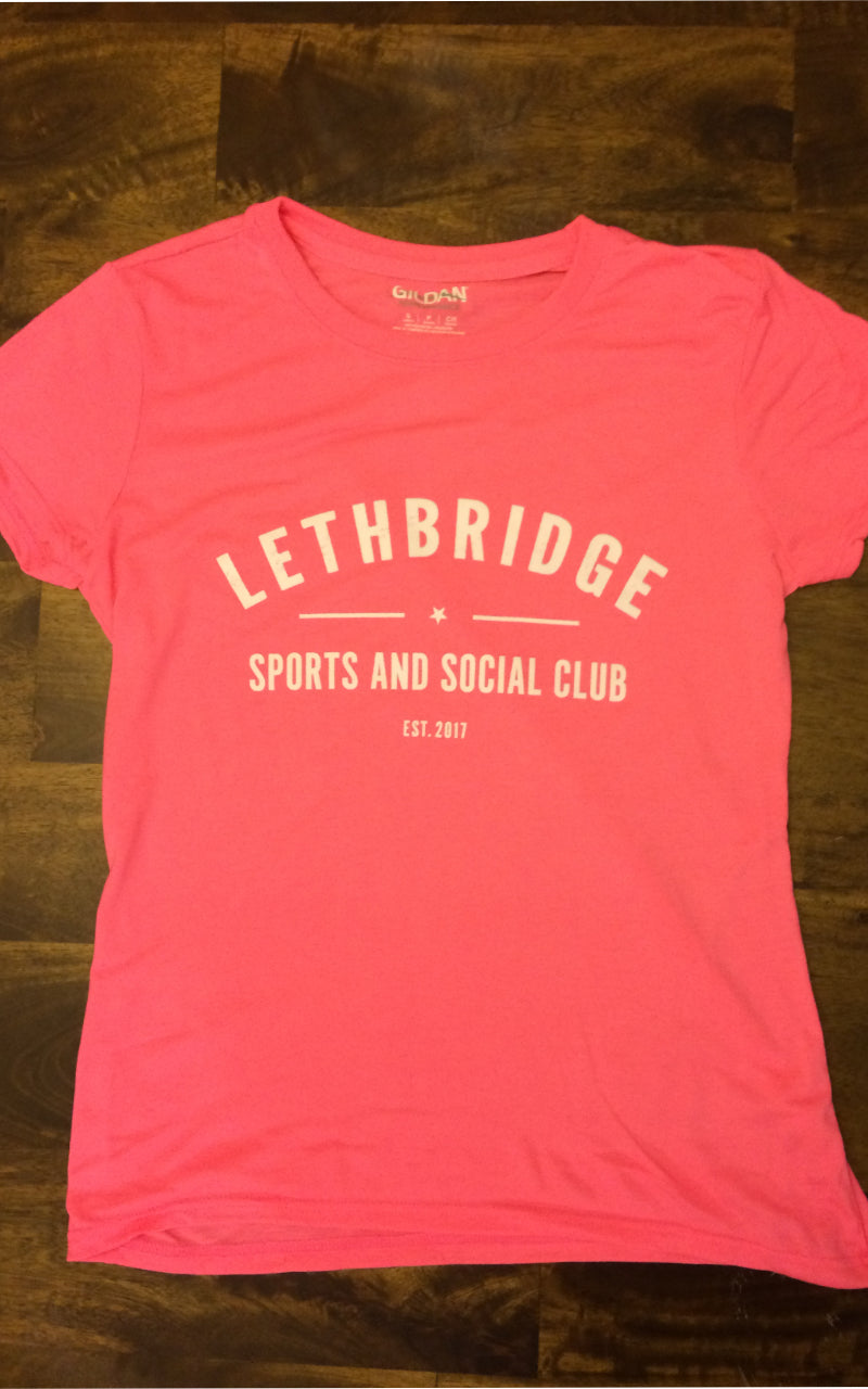 Women's Performance T - Lethbridge Sports and Social Club
