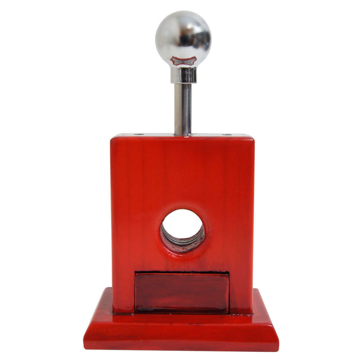Guillotine Cigar Cutter Mesa Uno Cherry Wood Pull Drawer - Cigar boulevard