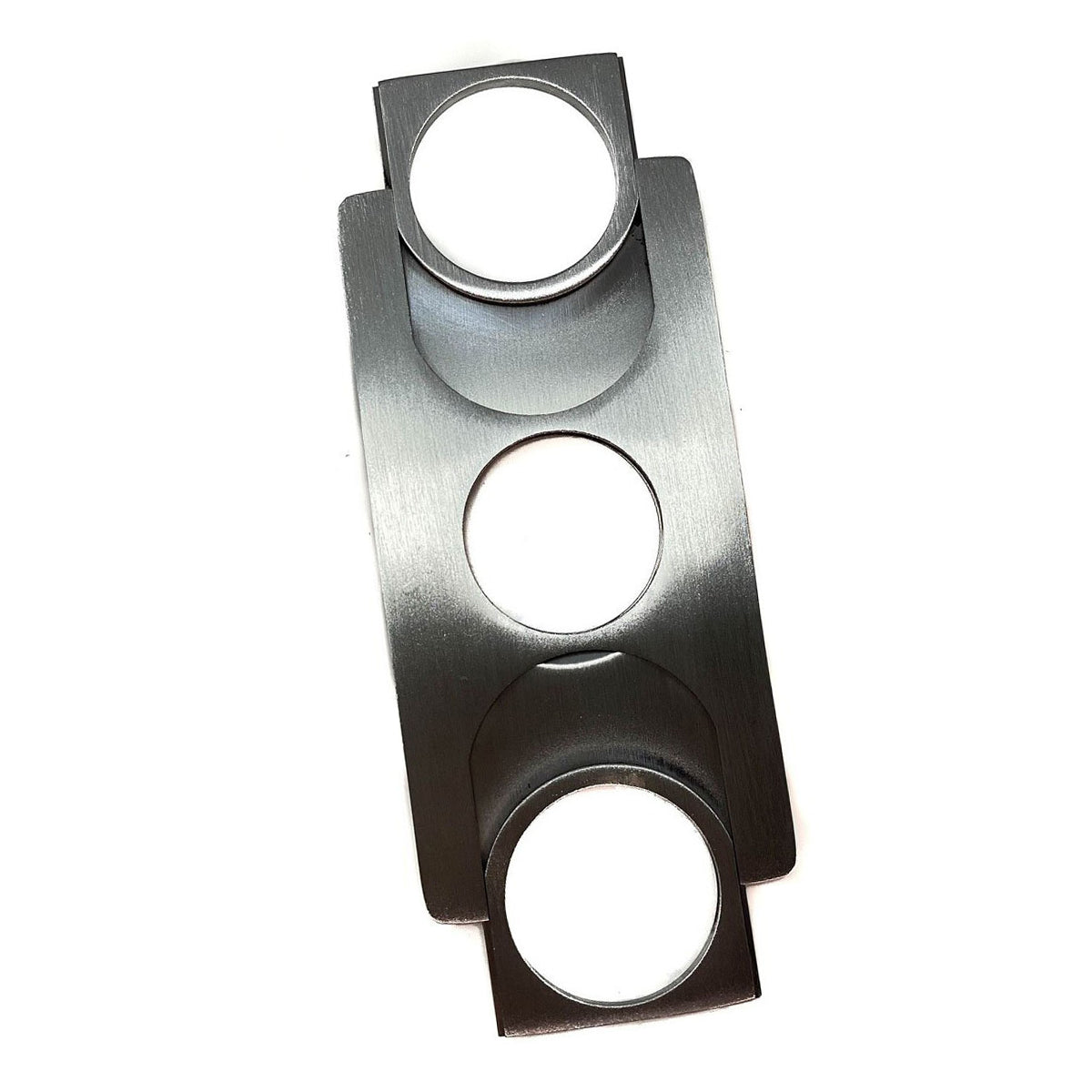Cigar Cutter FLAT Stainless Steel Credit Card Size Double Blade