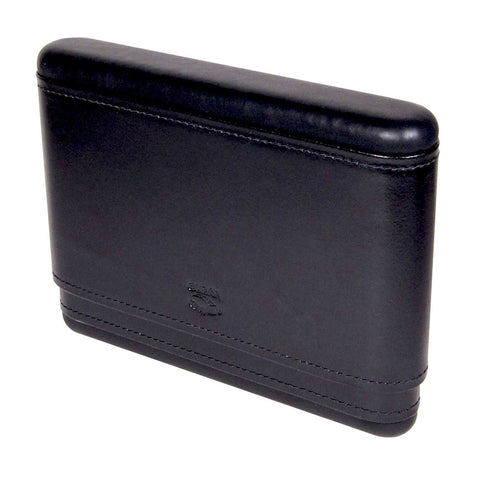 Cuban Crafters Capriano Portable Humidor for 8 Cigars Black Leather