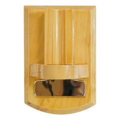 DeskTop Cigar Cutter Mesa Fina Madera Oak Gold - Humidors Wholesaler