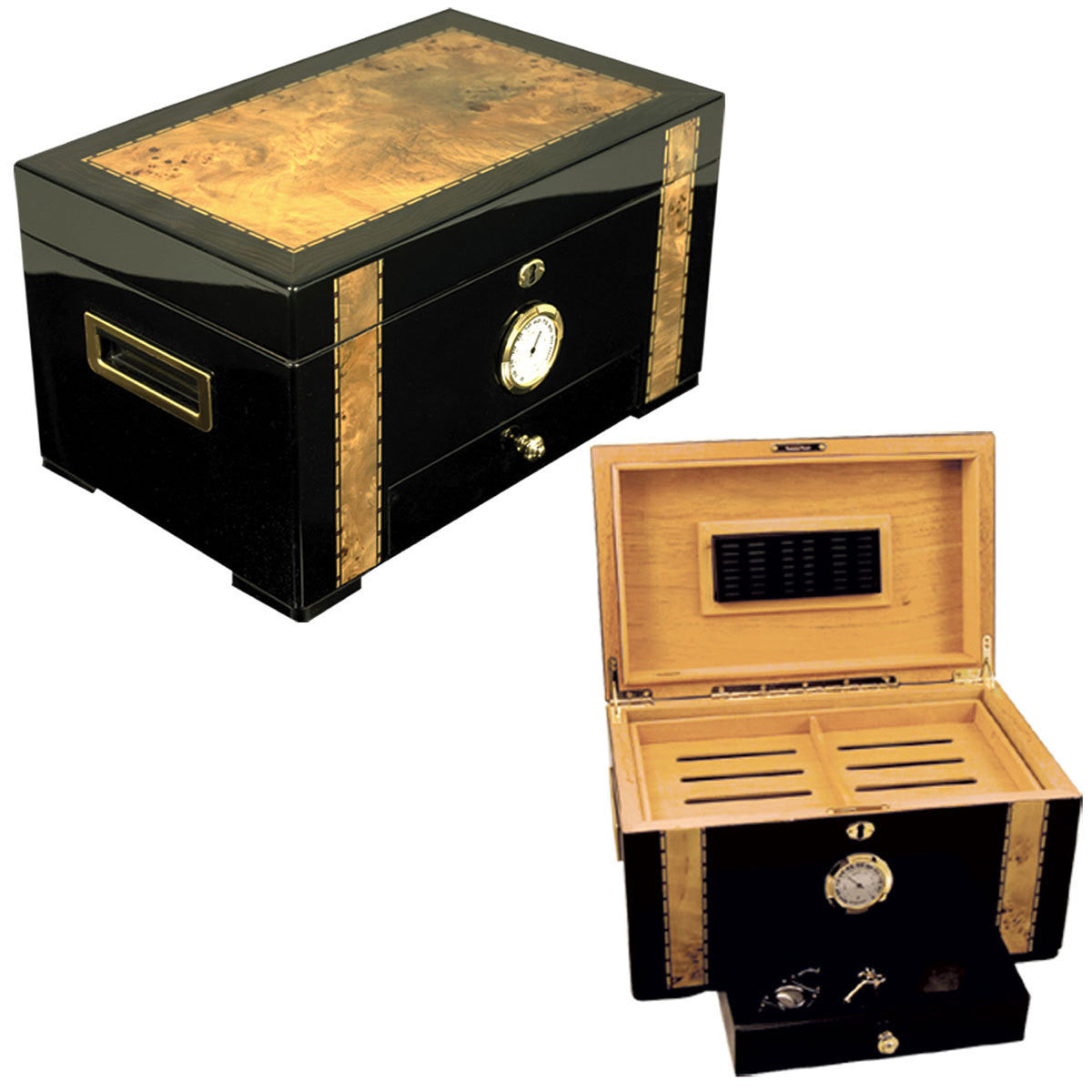 Cuban Exotica Humidor for 150 Cigars - Humidors Wholesaler