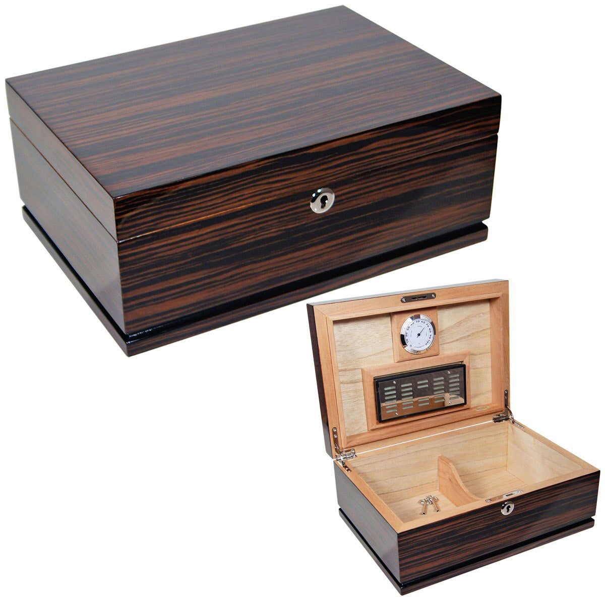 Cuban Crafters Majestad Quality Cigar Humidors for 75 Cigars