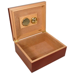 COMBO AMIGOS, 40 Cigars Humidor, Cigar Leather Case, Ashtray and a Cutter