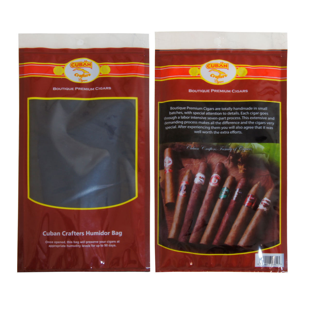 5 Travel Humidor Bag of 3 Cigar Capacity Each - Cigar boulevard