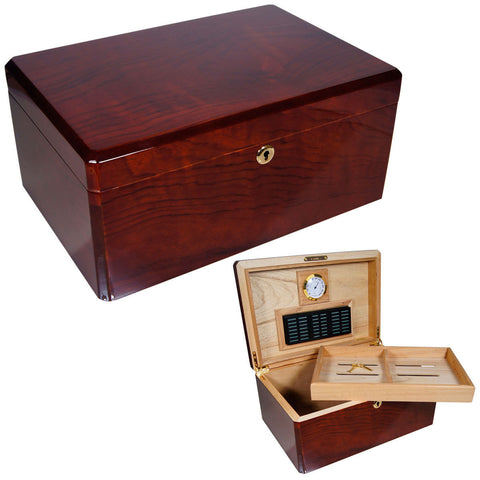 Colores Azul Humidors for 100 Cigars - Humidors Wholesaler