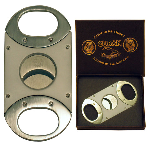 Cuban Crafters Unique Cigar Cutter Copper with Stainless Steel Blades - Humidors Wholesaler