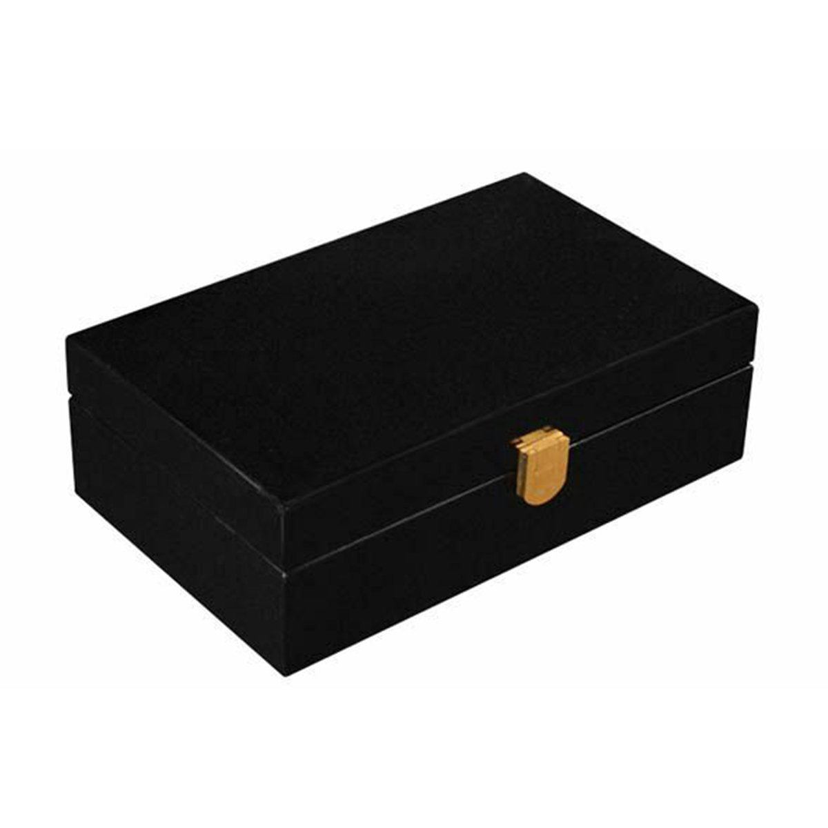 Small Humidor Black Traveler Humidor for 12 Cigars