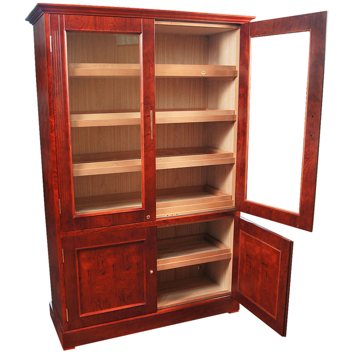Vitrina Doble Cabinet Humidor for 6000 cigars - Humidors Wholesaler