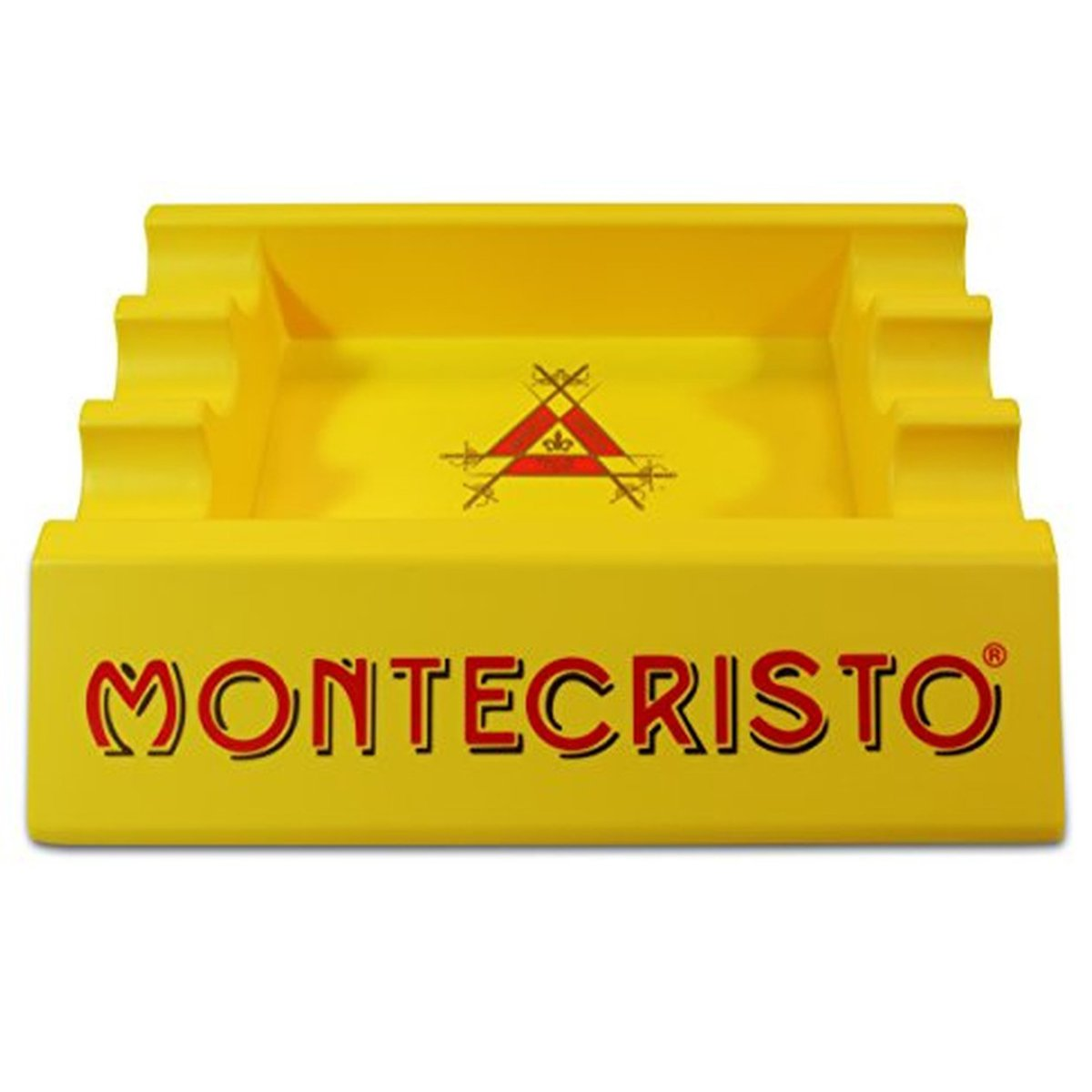 MONTECRISTO Indoor and Outdoor Large Ashtray for Cigars