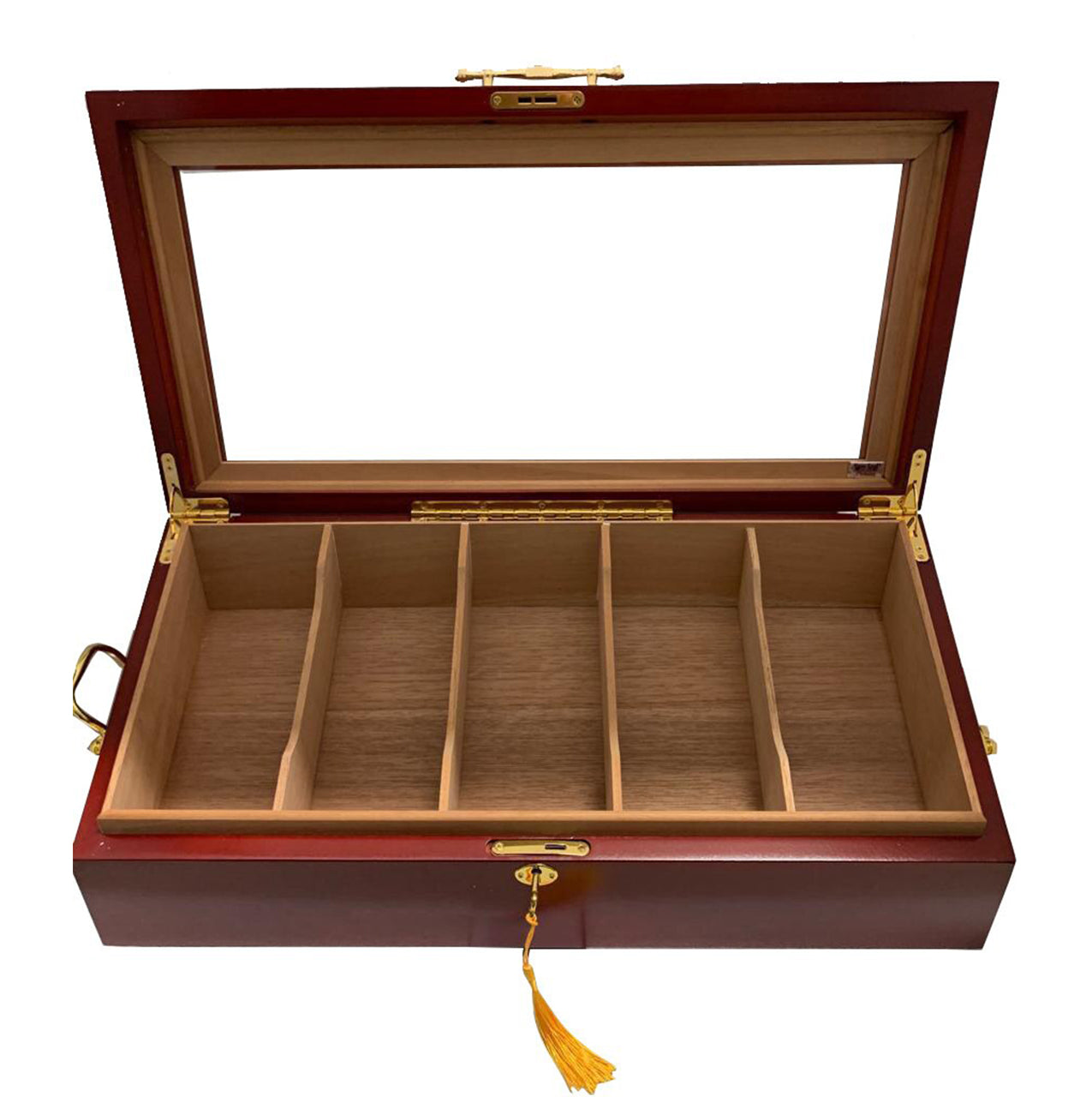 Desk/Counter Top Display Humidor for up to 100 Cigars